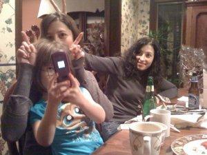 Jenn Steele, a sister, and a niece
